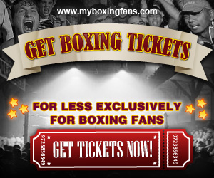 Discount on Boxing Tickets