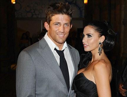 Katie Price and Alex Reid before marriage rift opened