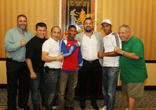 Gamboa-Ponce DeLeon Press Conf. photos