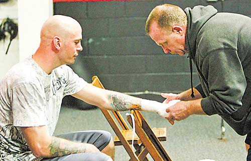 Kelly Pavlik and Jack Lowe