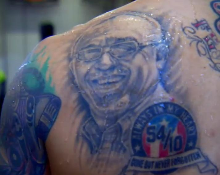 Cotto's tattoo