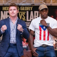 Canelo vs Lara Press Conference in Puerto Rico
